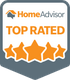 HomeAdvisor Top Rated Elite Service Provider