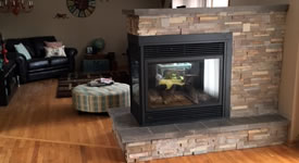 New Fireplace Installation Troy Ohio