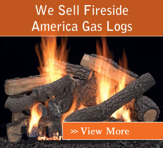 We sell American Fireside Gas Log Products