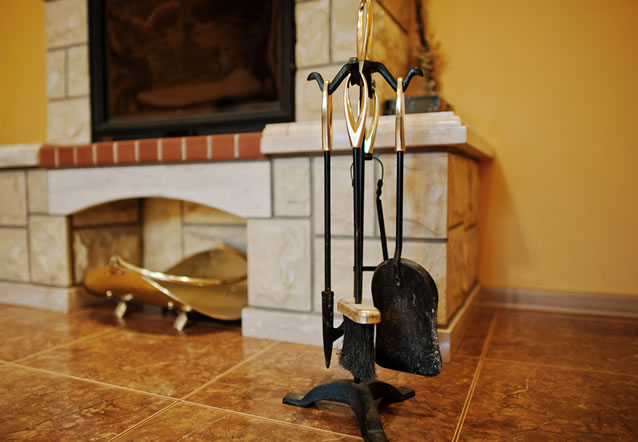 Fireplace Accessories, Tool Sets, Pokers, Ash Buckets, Hearth Rugs, Log Carriers