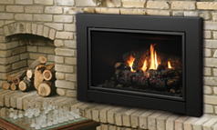 Kingsman IDV33 / IDV43 Wood Fireplace Insert