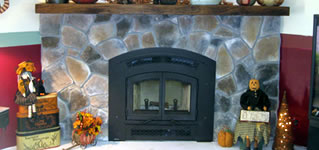 Regency Excalibur P90 Medium Gas Fireplace